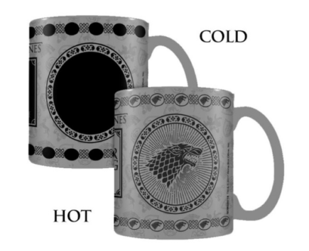 GAME OF THRONES - Mug Thermique Maison Stark