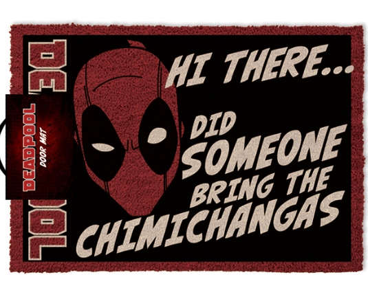 MARVEL - Paillasson Deadpool Chimichanga