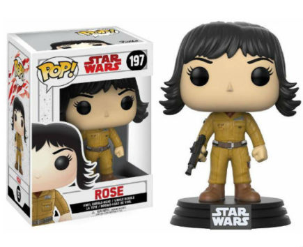 Star War Episode VIII POP! Vinyl figurine Rose N°197