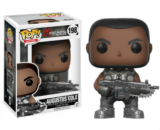 Gears of War POP! Vinyl Figurine Augustus Cole N°198