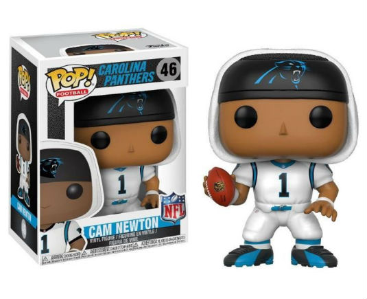 NFL Carolina Panthers POP! Vinyl Figurine Cam Newton - GeekOuPop