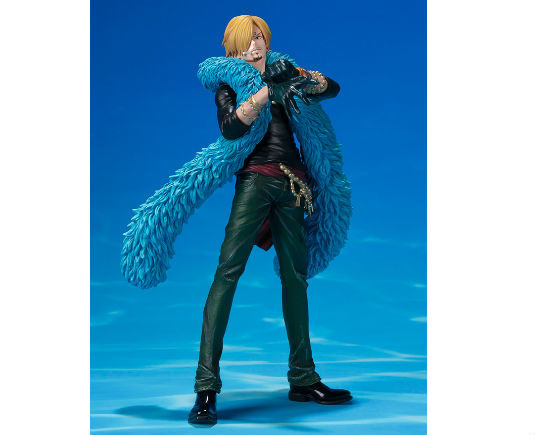 One Piece Zero Figurine Sanji 20th Diorama - GeekOuPop