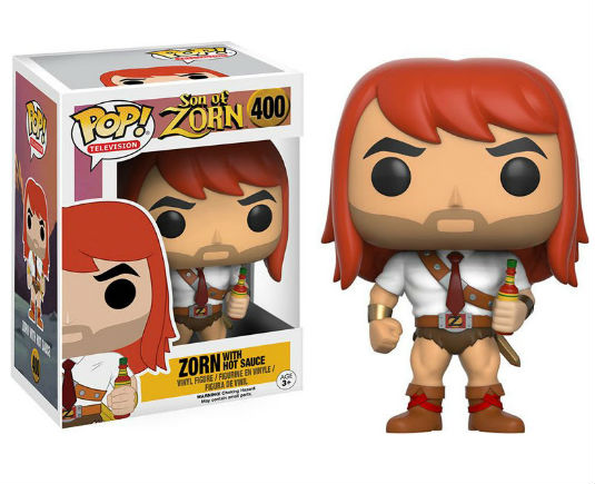 Son of Zorn POP! Vinyl Figurine Zorn With Hot Sauce - GeekOuPop