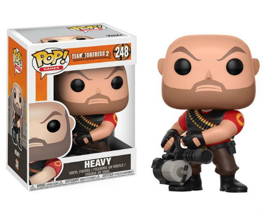 Team Fortress 2 POP! Vinyl Figurine Heavy - GeekOuPop