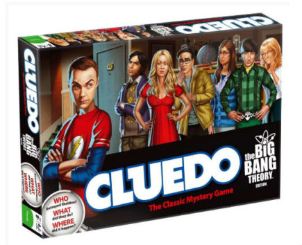 The Big Bang Theory jeu de plateau Cluedo (ANGLAIS)