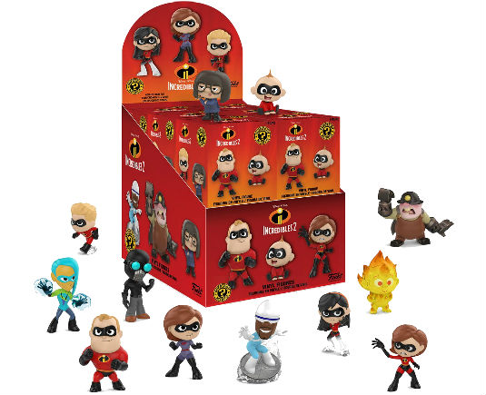 Disney Mystery Minis The Incredibles 2 - GeekOuPop by Mlle Geek