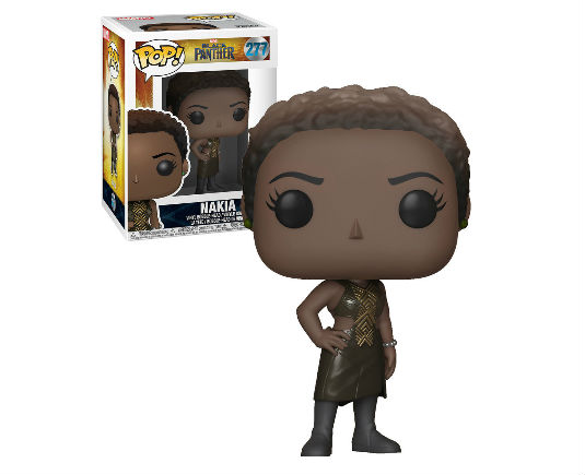 Black Panther Pop! Vinyl Figurine Nakia - GeekOuPop by Mlle Geek
