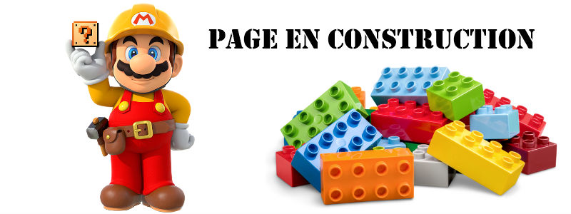 Page en construction GeekOuPop