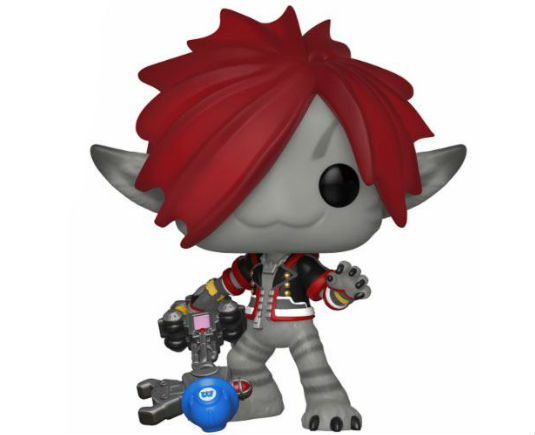 Kingdom Hearts 3 Pop Vinyl Figurine Sora Monsters Inc. - GeekOuPop