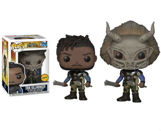Black Panther Pop! Vinyl Figurine Erik Killmonger Chase - GeekOuPop