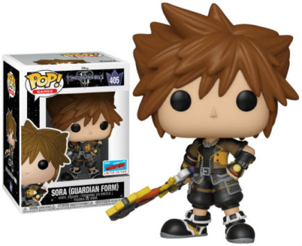 Kingdom Hearts 3 Pop! Vinyl Figurine Sora Guardian Form NYCC 2018