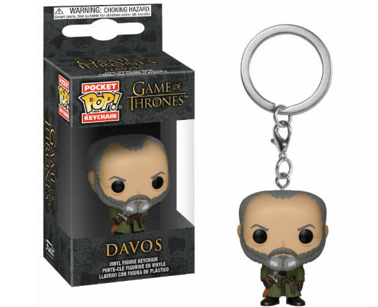 Game Of Thrones Pocket Pop! Davos - GeekOuPop by Mlle Geek