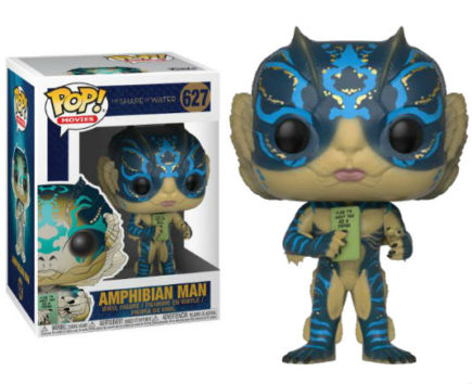 La Forme De L'Eau Pop! Vinyl Figurine Amphibian Man with Card