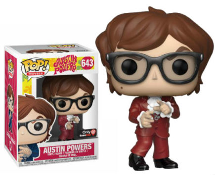 Austin Powers Pop! Vinyl Figurine Austin Powers Red Suit Exclu