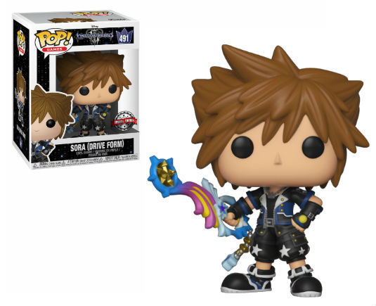 Kingdom Hearts 3 Pop! Vinyl Figurine Sora Drive Form EXCLU