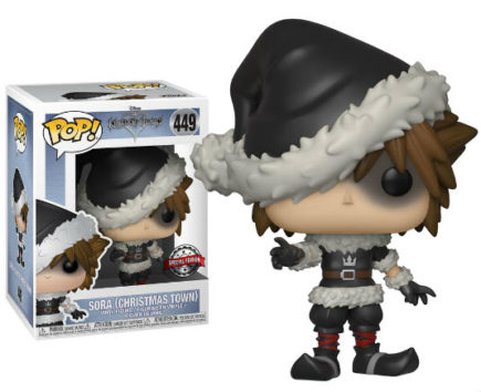 Kingdom Hearts Pop! Vinyl Figurine Sora Christmas Town - GeekOuPop