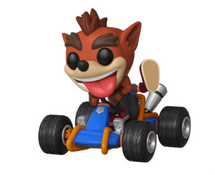 Crash Team Racing Pop! Vinyl Figurine Crash Bandicoot - GeekOuPop