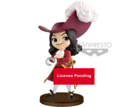 Q Posket Mini Disney Figurine Captain Hook - GeekOuPop