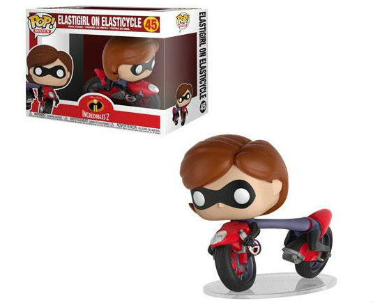 Disney Pop Incredibles 2 Figurine Elastigirl on Elasticycle