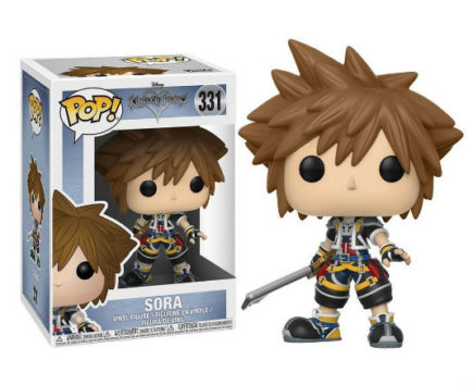 Kingdom Hearts Pop! Vinyl Figurine Sora - GeekOuPop