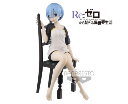 Re Zero Starting Life In Another World Relax Time Rem T Shirt Ver 20cm