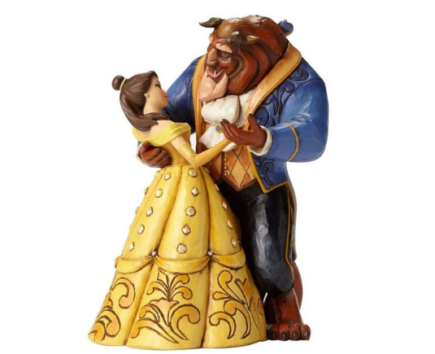 Figurine DISNEY Traditions - Belle and Beast Dancing Couple (25th years)